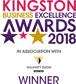 Winner, Kingston Business Excellence Awards 2018, Customer Service category