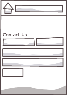 Web to email contact form on website