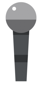 Voice search microphone