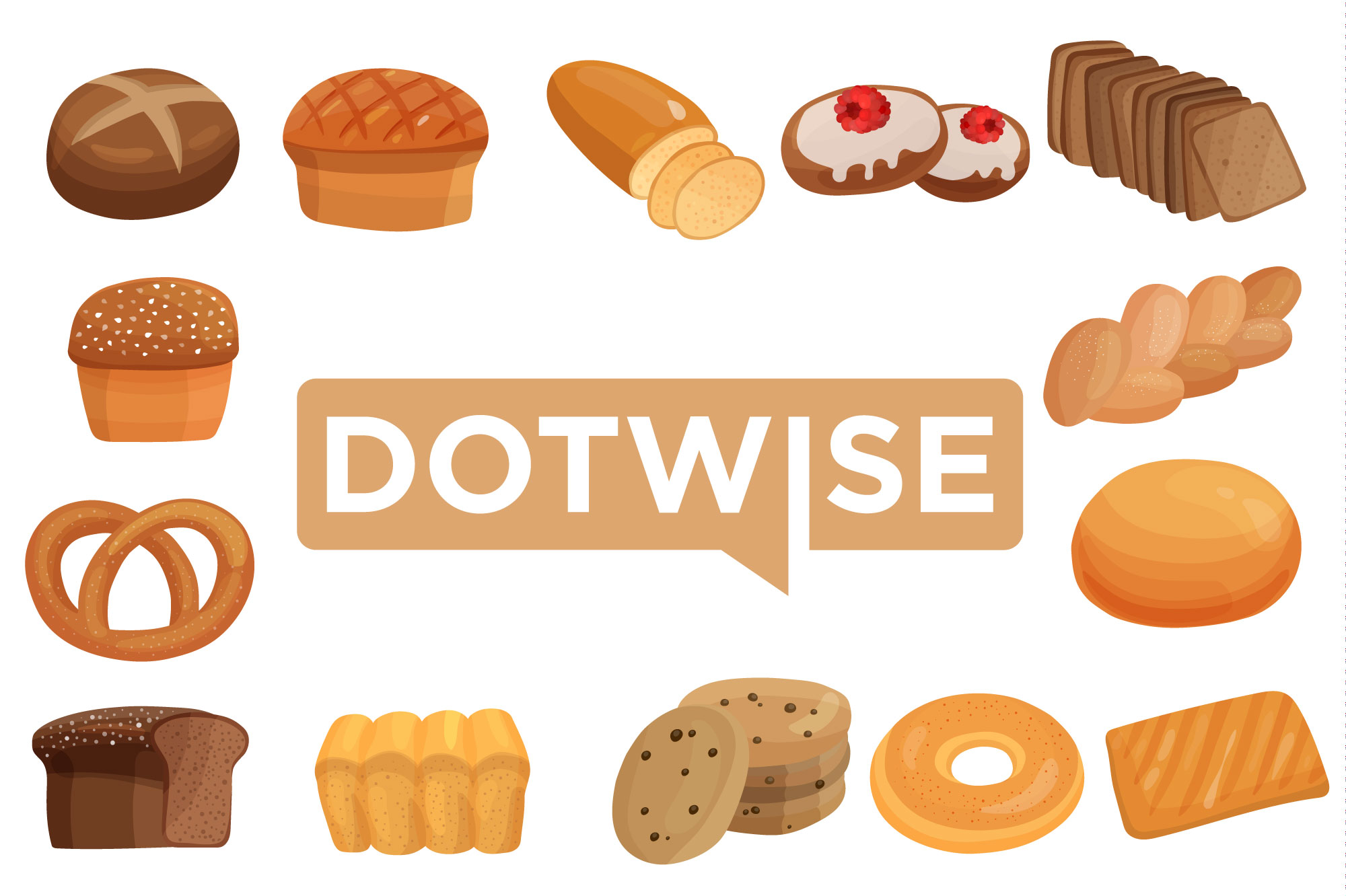 Dotwise baked goods!
