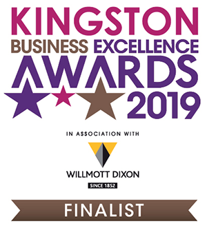 Finalist, Kingston Business Excellence Awards 2019